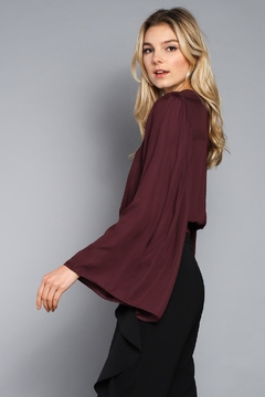 Do & Be Wide Sleeve Crop Top - Alternate List Image