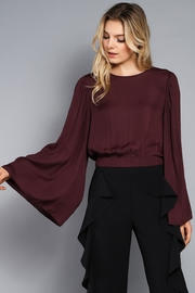 Do & Be Wide Sleeve Crop Top - Product Mini Image