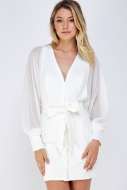 Do & Be Wide Sleeve Dress - Front cropped
