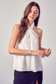 Do & Be Woven Halter Neck Top - Product Mini Image
