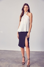 Do & Be Woven Halter Neck Top - Side cropped