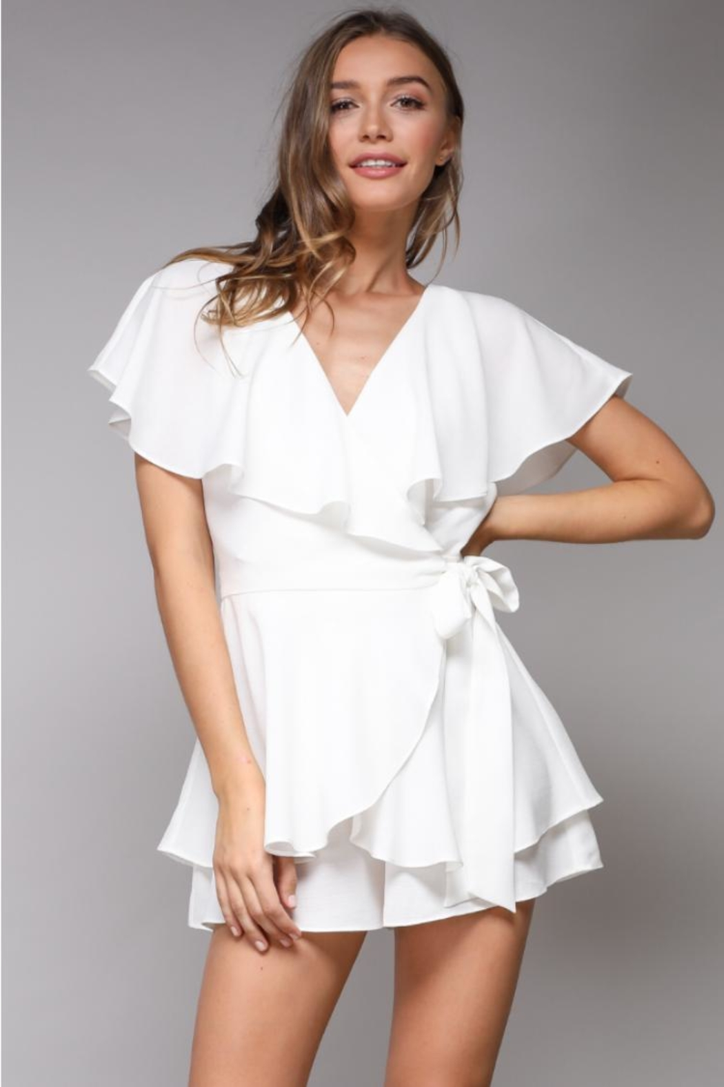 Do & Be Wrap Playsuit Romper - Main Image