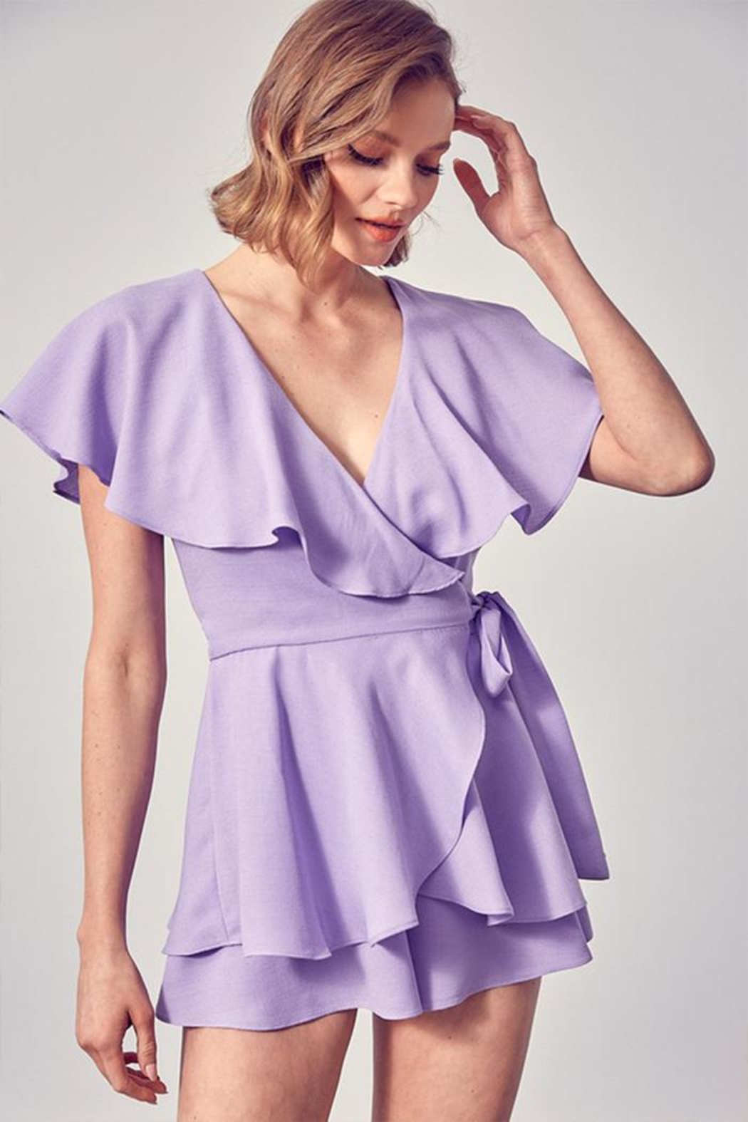 Do & Be Wrap Side Romper - Main Image