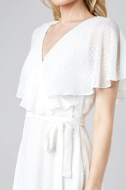 Do & Be Wrapped Ruffle Dress - Back cropped
