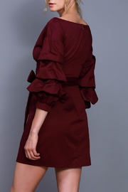 Do & Be Wrapped Tie Dress - Front full body
