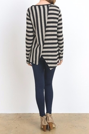 Do & Be Lana Zip Top Sweater - Front full body
