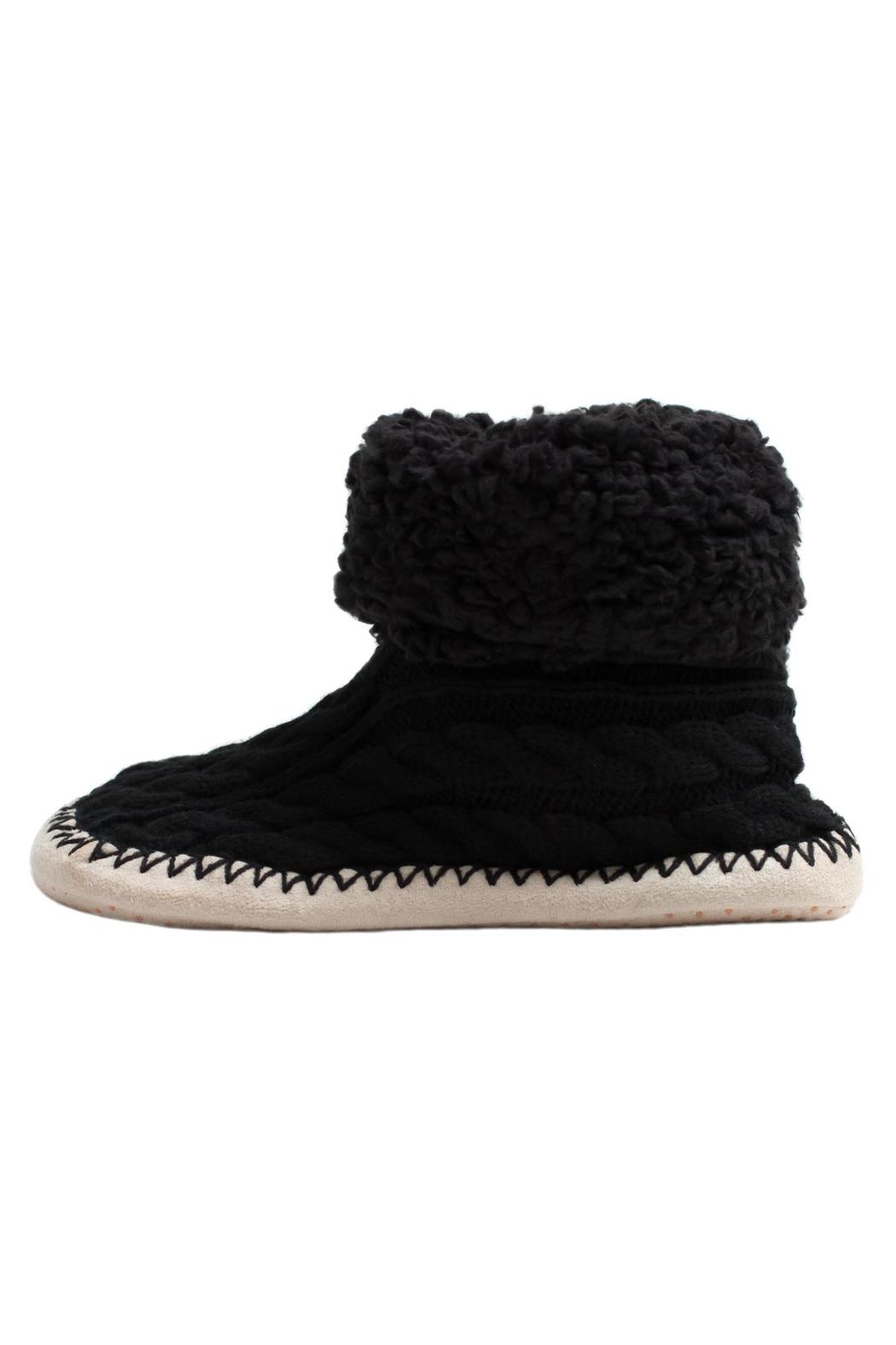Do Everything in Love Cable Knit Slippers - Main Image