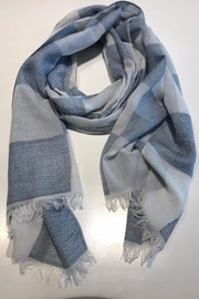 Do Everything in Love Check Board Scarf - Front cropped