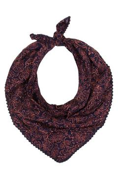Shoptiques Product: Paisley Print Neckerchief