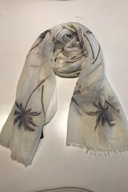 Do Everything in Love Palm Scarf - Front cropped