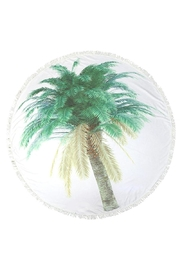 Do Everything in Love Palm Tree Towel - Front cropped
