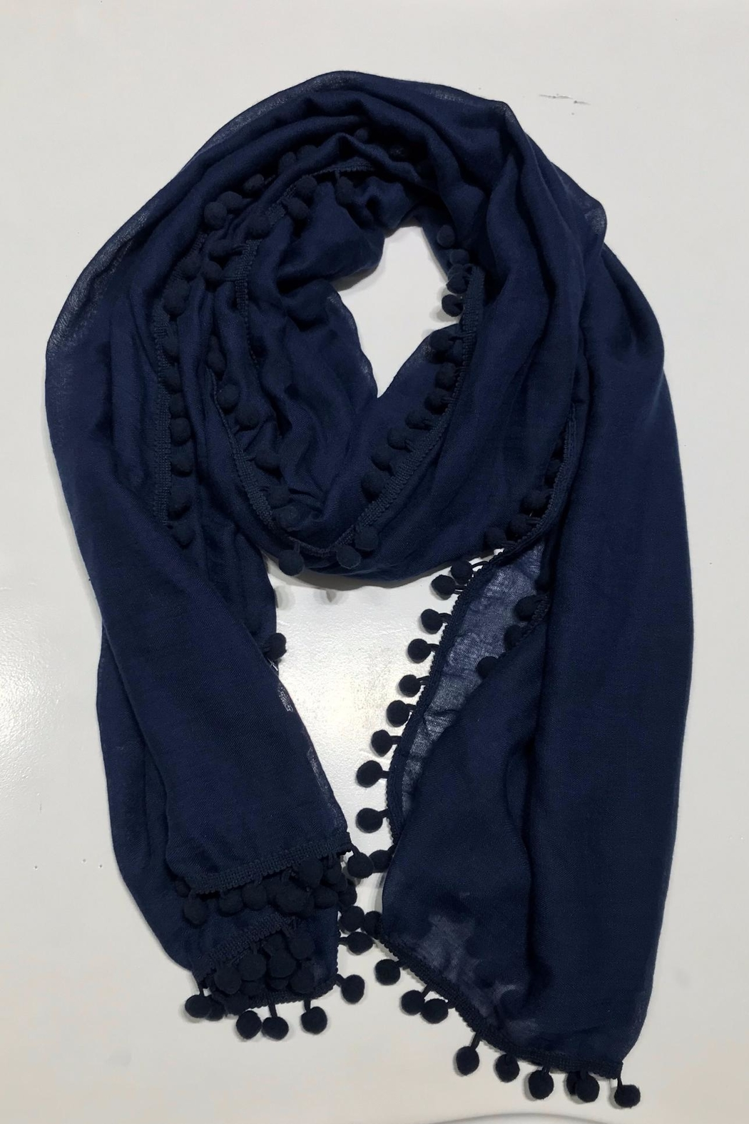 Do Everything in Love Pom Pom Scarf - Main Image