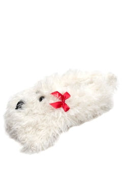 Do Everything in Love Shaggy Dog Slippers - Product List Image