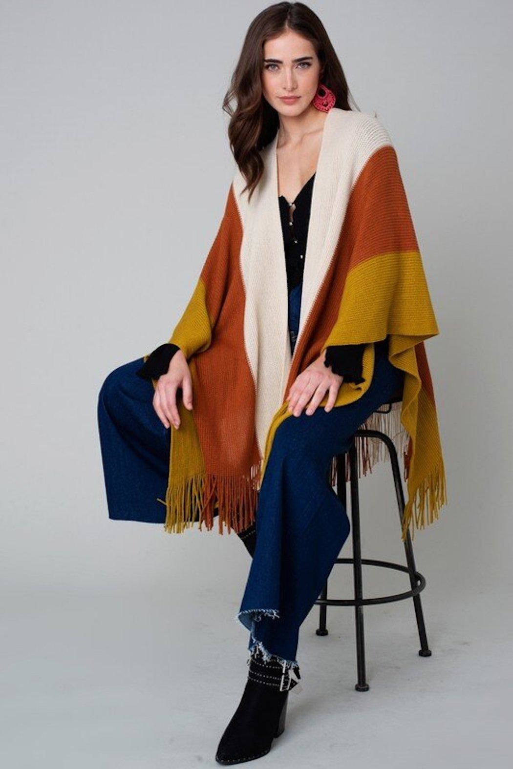 Do Everything in Love Wanderer Stripe Sweater - Main Image