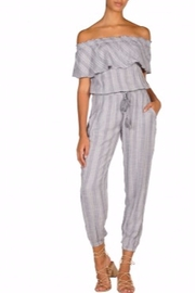 Elan Dobby Stripe Jumpsuit - Product Mini Image