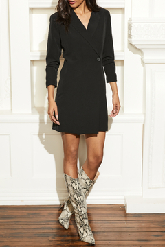 Ecru Dockery Blazer Dress - Product List Image