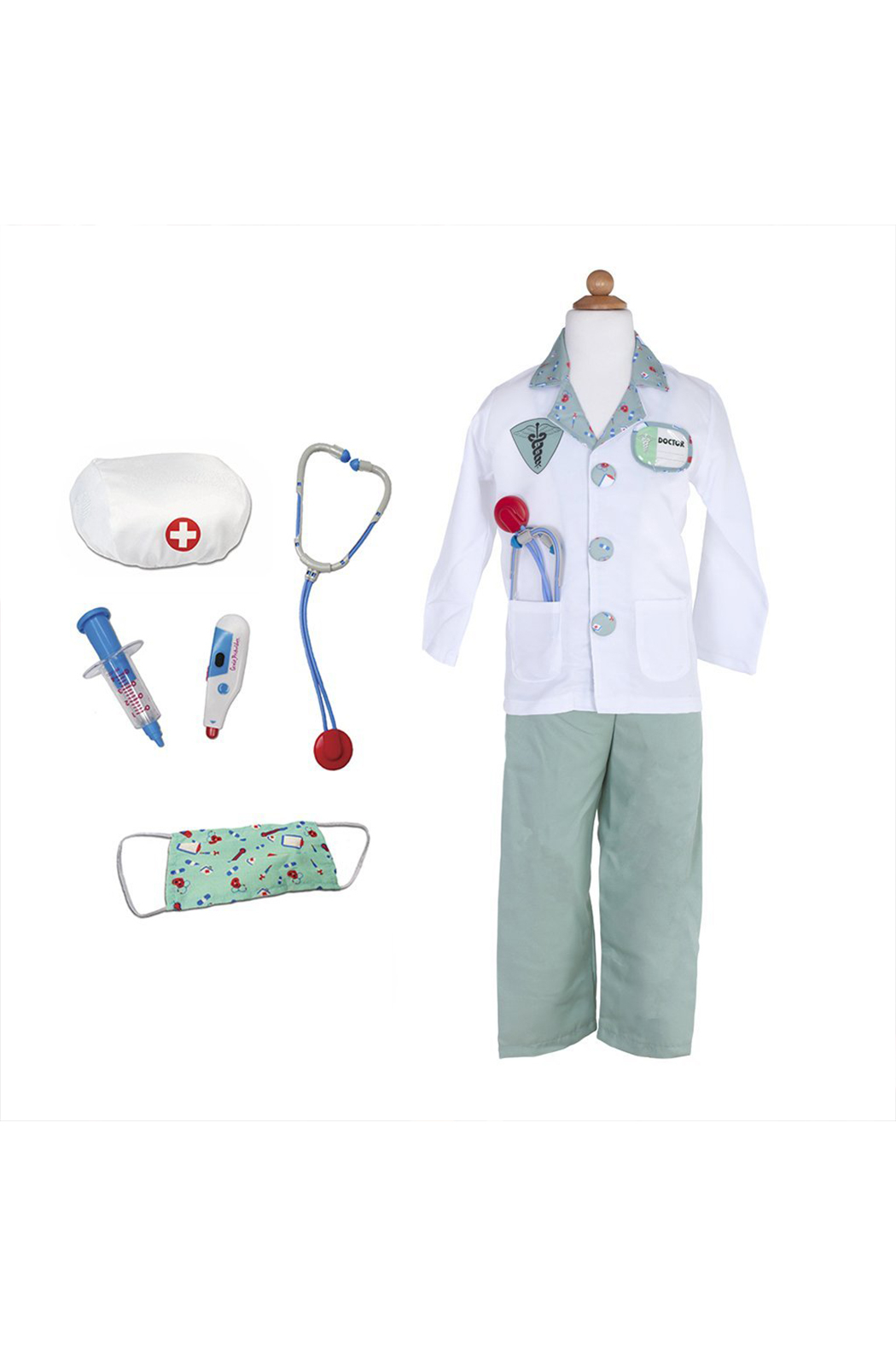 Great Pretenders  Doctor Costume With Accessories - Main Image