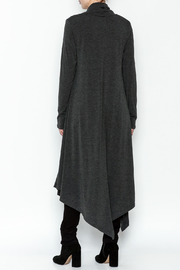 Doe & Rae Cowl Long Pullover - Back cropped