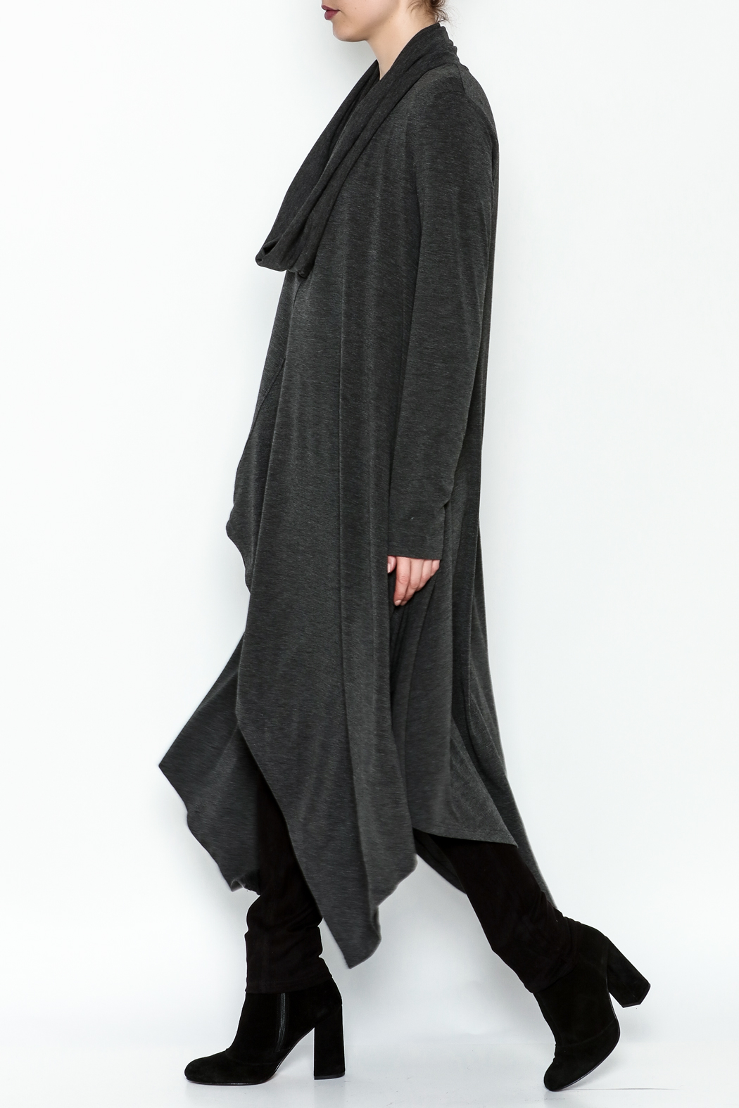 Doe & Rae Cowl Long Pullover - Main Image