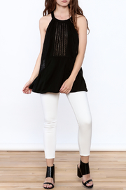 Doe & Rae Crochet Tunic Top - Front full body