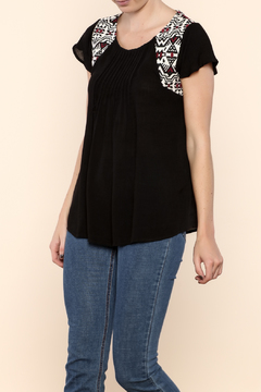 Shoptiques Product: Ebony Tribal Top