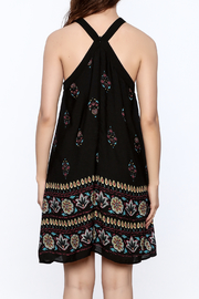 Doe & Rae Floral Shift Dress - Back cropped