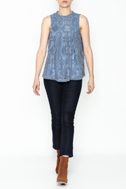 Doe & Rae Lace Tunic Top - Side cropped