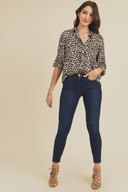 Doe & Rae Animal Printed Button Down Shirt - Other