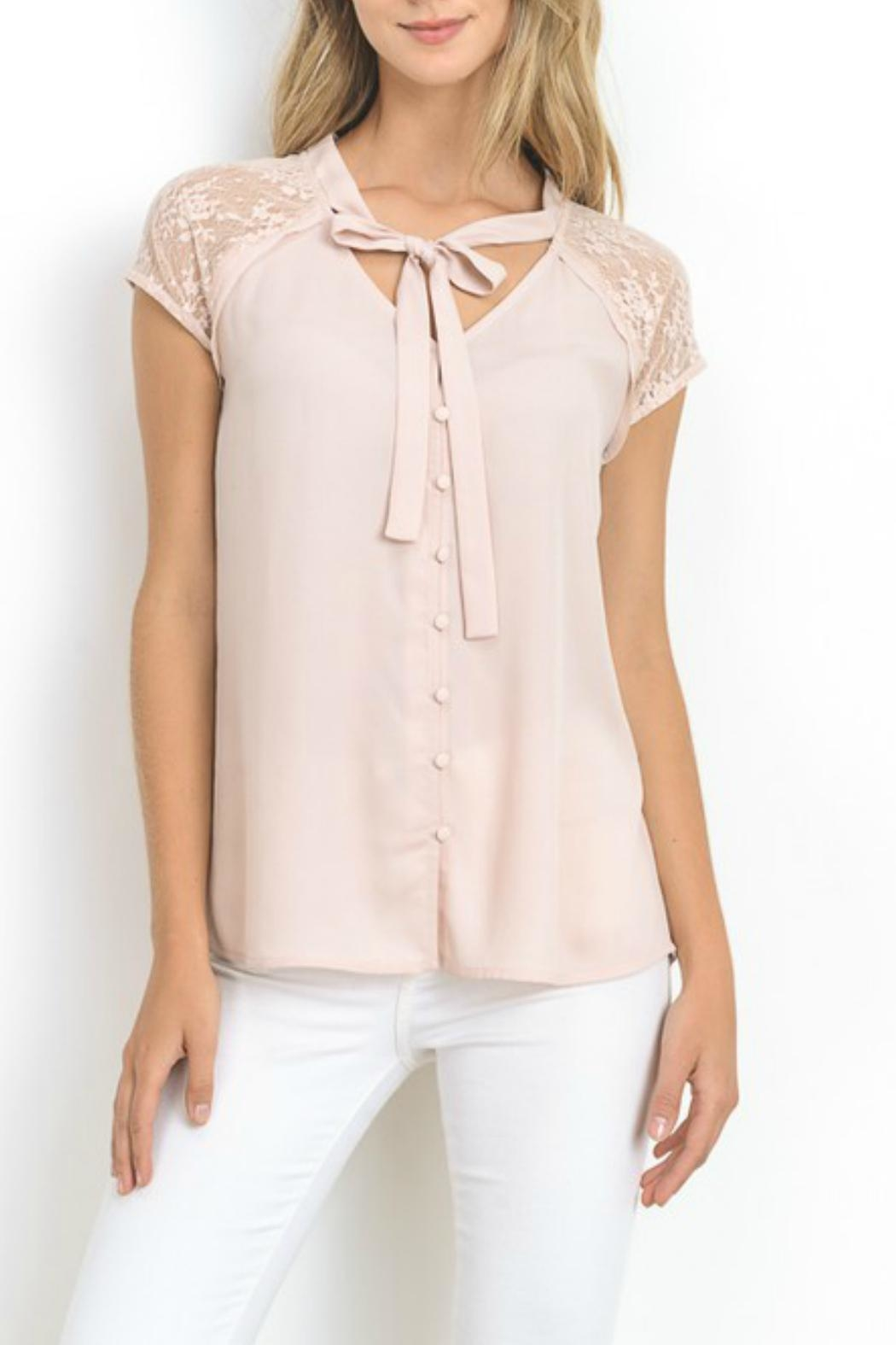 Doe & Rae Audrey Top - Front Cropped Image