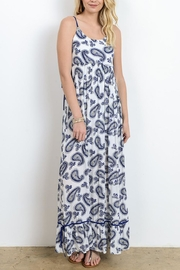 Doe & Rae Blue Paisley Maxi Dress - Product Mini Image