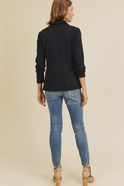Doe & Rae Button Detail Jacket With Waist Line - Side cropped