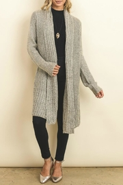 Doe & Rae Chunky Knit Cardigan - Product Mini Image
