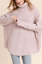 Doe & Rae Chunky Turtleneck Sweater - Product Mini Image