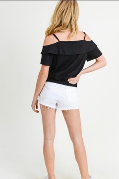 Doe & Rae Cold Shoulder Top - Alternate List Image