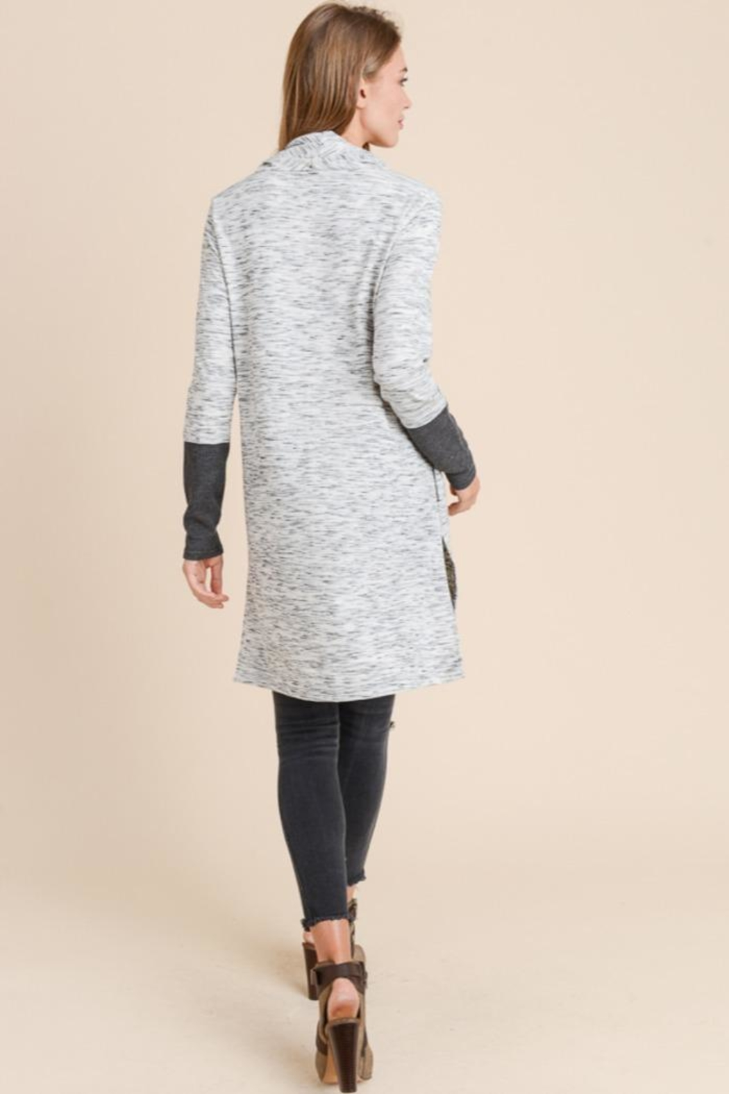 Doe & Rae Cowl Neck Tunic - Front Full Image