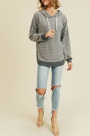 Doe & Rae Denise Striped Sweatshirt - Product Mini Image