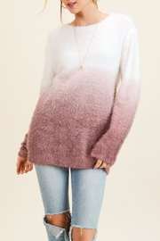 Doe & Rae Dip Dye Sweater - Product Mini Image