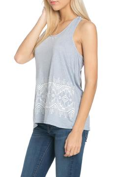 Shoptiques Product: Embroidered Aztec Tank