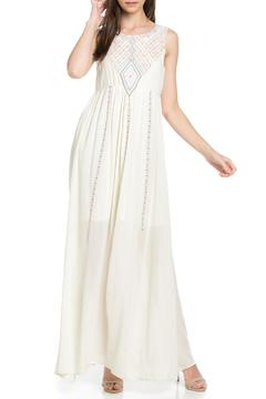 Shoptiques Product: Embroidered Maxi Dress