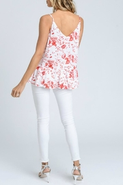Doe & Rae Floral Ruffle Tank - Other