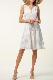 Doe & Rae Frayed Edge Dress - Product Mini Image