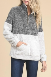 Doe & Rae Fuzzy Pullover - Front cropped