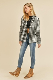 Doe & Rae Houndstooth Double Breast Jacket - Other