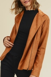 Doe & Rae Kimmy Faux-Suede Moto - Other