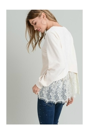 Doe & Rae Lace Back Top - Side cropped