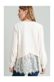 Doe & Rae Lace Back Top - Other