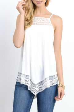 Shoptiques Product: Lace And Crochet Tank