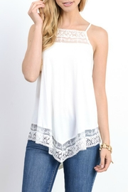 Doe & Rae Lace And Crochet Tank - Product Mini Image