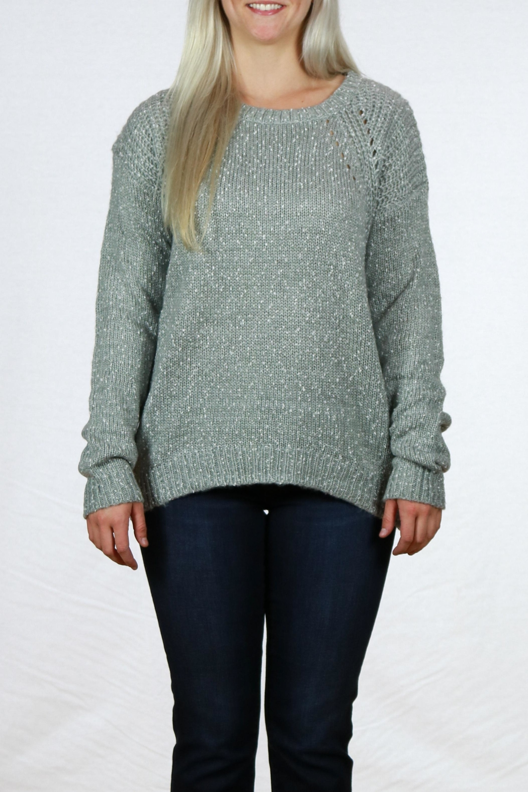 Doe & Rae Long Sleeve Pullover - Main Image