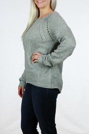 Doe & Rae Long Sleeve Pullover - Back cropped